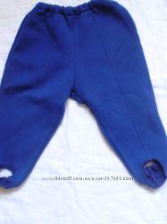 Спортивные штаны на флисе на 6-12 месяцев