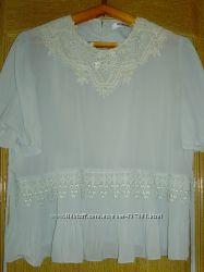 Шифоновая нарядная блуза Wirona, мятного цвета