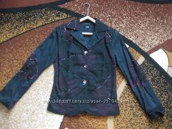 Стильный коттоновый пиджак. Италия