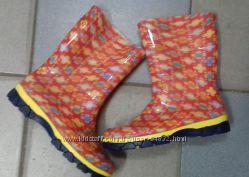 Резиновые сапожки Литма в наличии для малышек Р23-35  утеплители