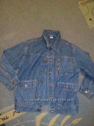 джинсовая куртка жакет Адамс 9-10 лет