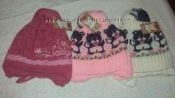 Зимние шапочки для девочек тм. Алекс Укра