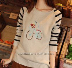 Модный свитер на девочку подростка.