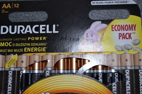 Продам батарейки  Duracell ААА и АА по 12 шт