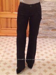 Плотные  черные брюки Cop Copine. Франция. размер 36  ХС.