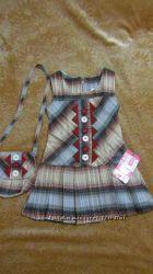 Сарафанчик с сумочкой для девочки   Моя доставка Укрпочтой