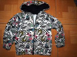 Теплые курточки-кофточки с начесом и на меху, на 1-2 года