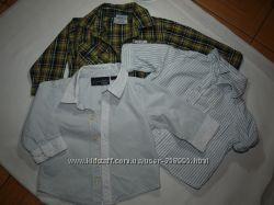 Красивые нарядные стильные рубашки идеальное состояние