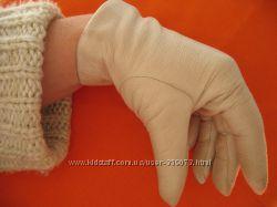 Кожаные-кашемировые перчатки с Лондона.