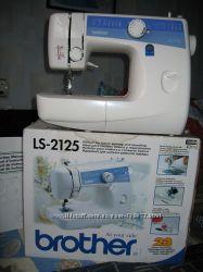 Швейная машинаBrother новая, покупала в Лондоне.