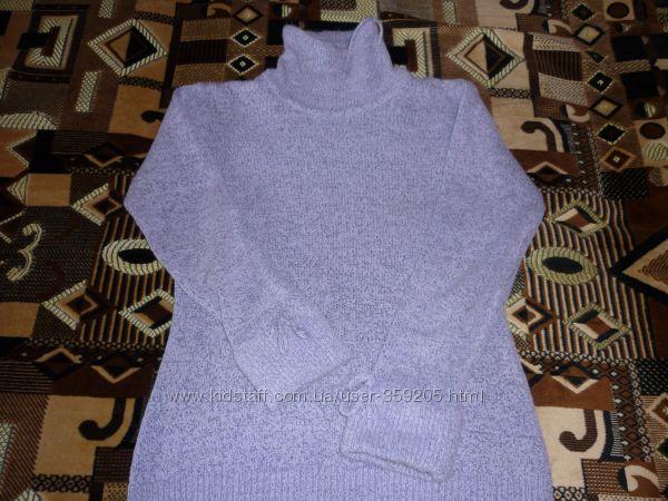 Теплый уютный свитер р. 46-48