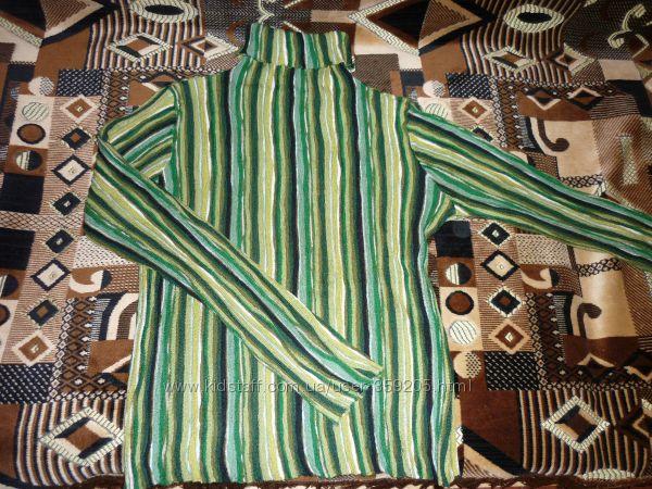 Стильный свитер шерсть - мохер 44-46 р.