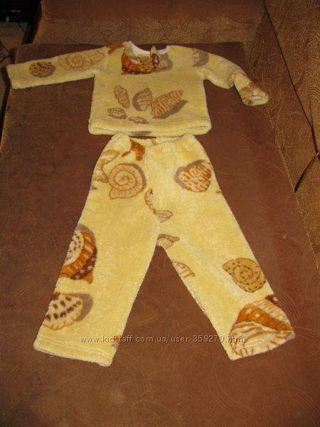 Пижама зимняя теплая