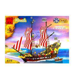 Конструктор BRICK из серии Пираты и  Пиратские корабли