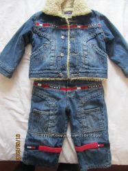 Продам джинсовый костюм TOMMY HILFIGER