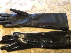 Высокие перчатки   С мехом внутри