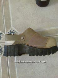 Сабо женские кожаные 36-37р