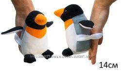 Мягкая игрушка Пингвин Марти мини и Дельфин на ручку