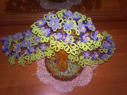 сувениры деревья из бисера