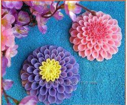 Цветы -мыло ручной работы