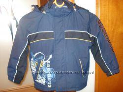 куртка деми на рост 104 на флисе