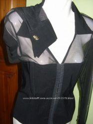 Блузка капроновая с корсетом