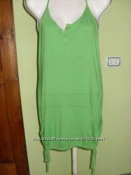 Зеленый сарафан  туника