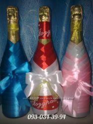 Декорированная бутылка в Одессе
