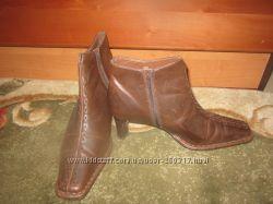 Ботинки фирменные кожа р. 38 дешево