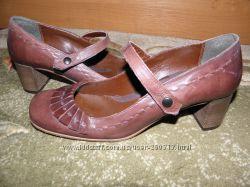 Туфли фирменные кожа р. 38