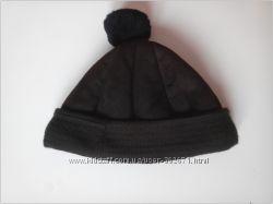 Тёплая кожаная шапка на меху