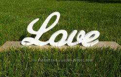 Слова, буквы из дерева на заказ