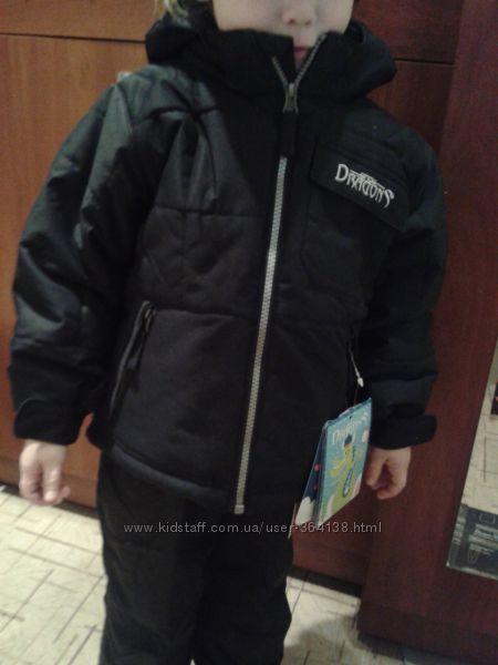 Куртка Snow Dragons, 3т  92-105см, т. к. система роста