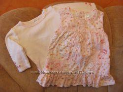 Платьеца  и сарафанчики для девочки на 6-12мес.