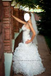 Свадебное платье необычного кроя