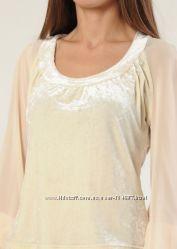 Шикарная молочная блуза