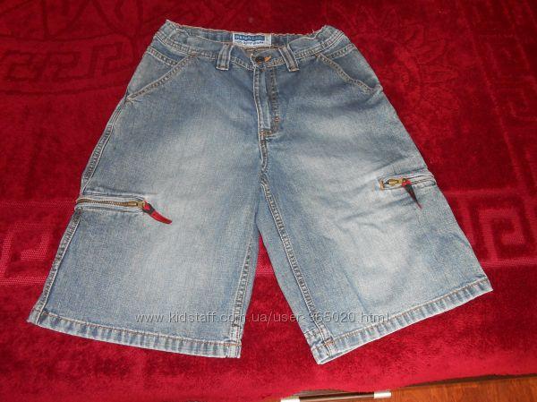 Фирменные джинсовые шорты на вашего мальчика