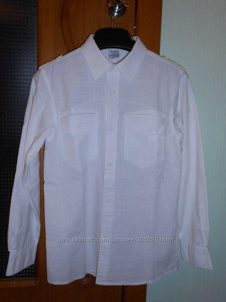 льняная рубашка 25 р-р рост 155-160см