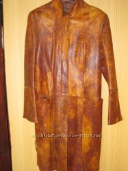 Продам кожаный кардиган в идеальном состоянии