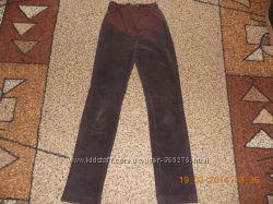 Вельветові штани для вагітних, розмір М-Л