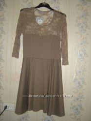 Нарядное платье с гипюром Дороти Перкинз
