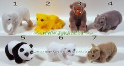 Серия бархатных животных