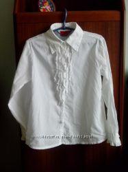 Блузка школьная девочке BLUE SEVEN, 122 см