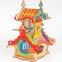 Деревянные 3D пазлы Woody - Чудо раскраски