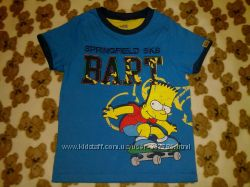 MARKS & SPENCER футболка для мальчика 6-7лет