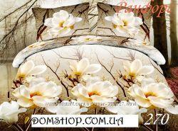 Шикарное постельное белье в ткани ранфорс 3 Д. Лучшая цена на сайте