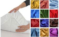 Постельное белье , Простынь на резинке, ночнушки , халат АТЛАС