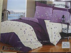 Шикарное постельное белье, евро размер, ткань - сатин, ТМ Елвей.