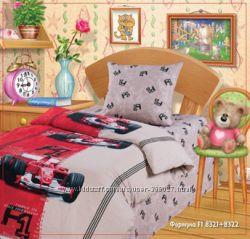 Красивое постельное бельё для мальчиков есть в наличии  ТМ Непоседа