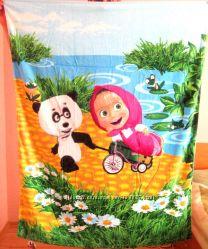 Полотенца пляжные серии Маша и медведь в наличии
